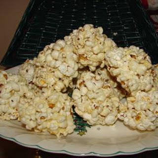 Old Time Popcorn Balls.