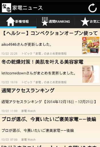 免費新聞App 家電ニュース 阿達玩APP