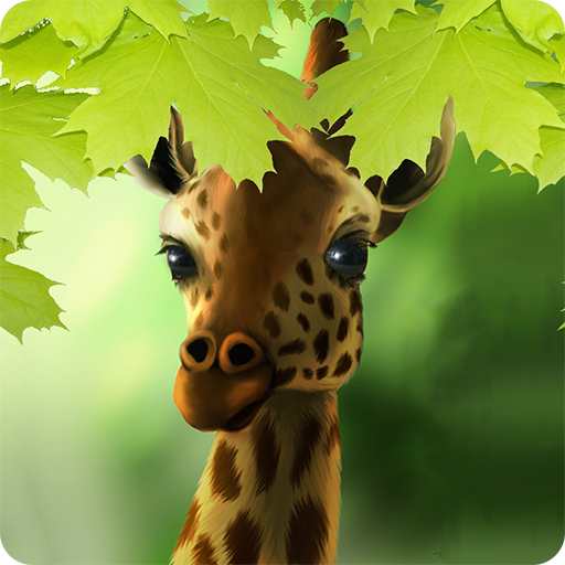 Giraffe HD Parallax LWP Pro LOGO-APP點子
