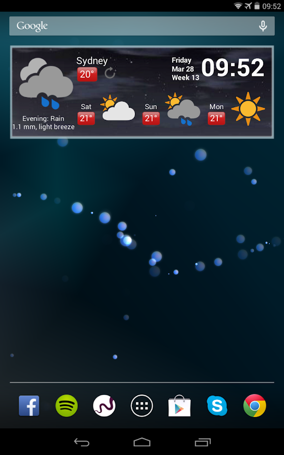 Weather Free- screenshot
