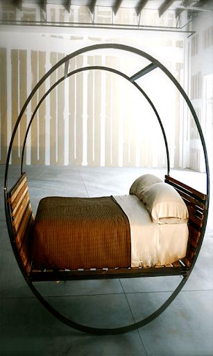 獨特的床設計
