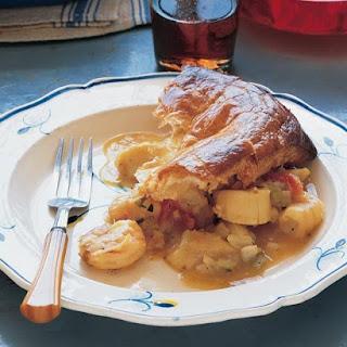 Provencal Seafood Pie.