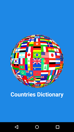 Countries Dictionary