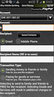 Screenshot of SkyOne