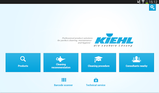 KIEHL Cleaning Industry tablet