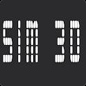 Sim 3D logo