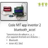 Arduino bluetooth Accel