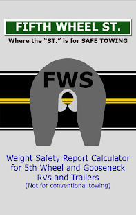RV Weight Safety Report - FWS- screenshot thumbnail