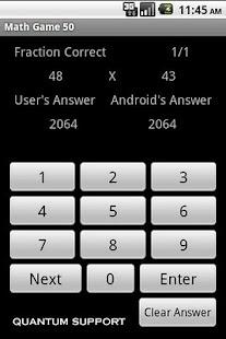 Math Game 50 - screenshot thumbnail
