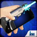 Smart laser gun simulator mobile app icon