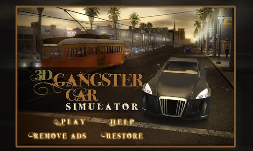 3D Gangster Car Simulator Game