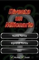 Screenshot of Diventa un Milionario