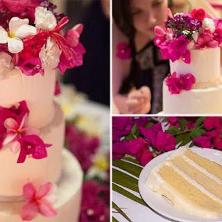 Chef Stephen Collucci's Vanilla Cake.
