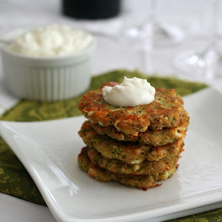 Zucchini and Feta Fritters – Low Carb and Gluten-Free.