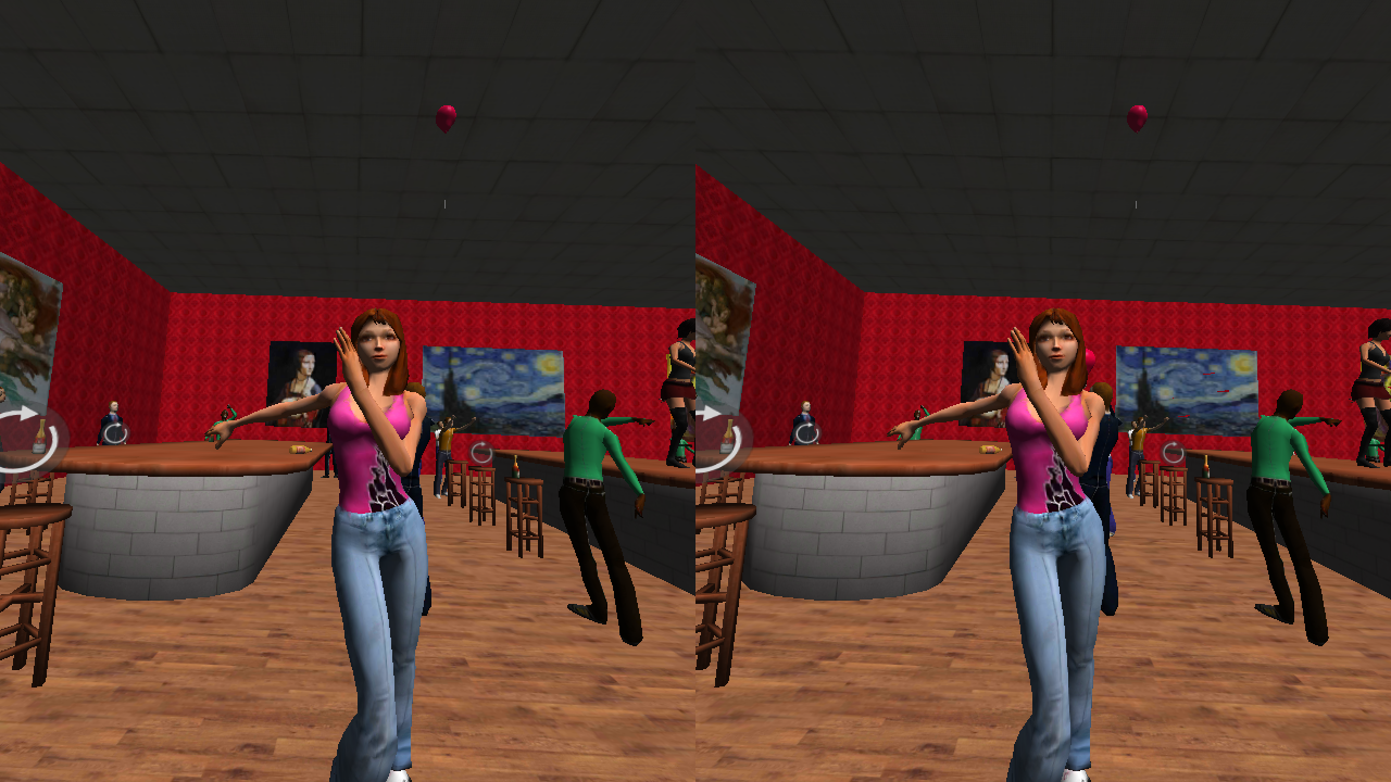 VR Table Dance Party- screenshot