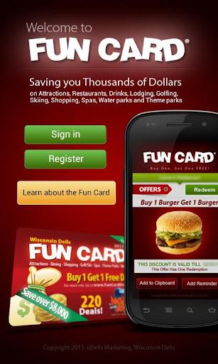 Fun Card - Buy 1 Get 1 Free