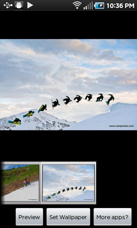 Snowboarders Delight- screenshot