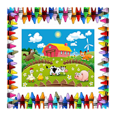 The Farm Coloring Book