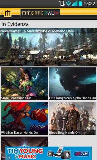 MMORPG ITALIA News