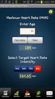 Screenshot of FitCal - Fitness Calculators