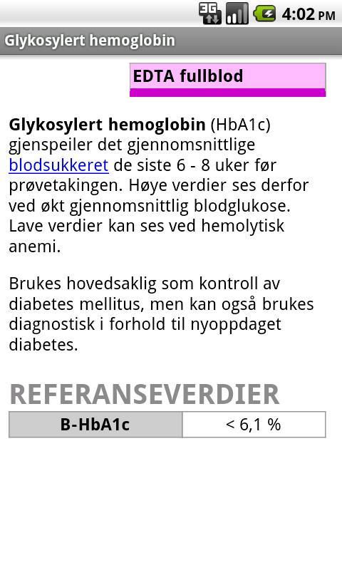 Blodprøver- screenshot