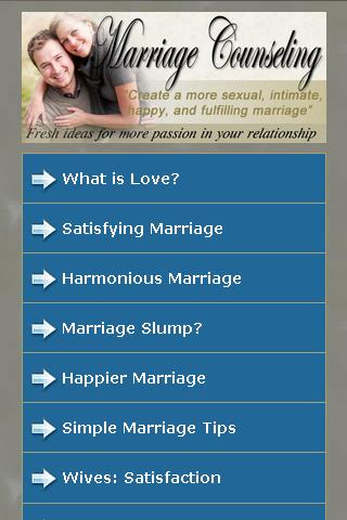 Marriage Counseling Advice
