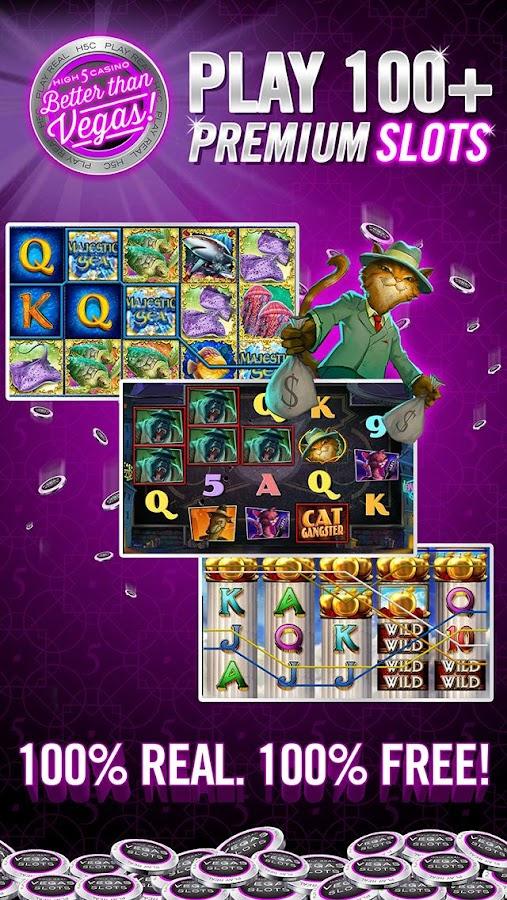 real slots on high 5 casino slots