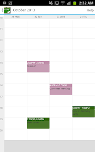 Guru Calendar Free - screenshot thumbnail