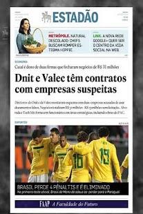 Estadão Jornal Digital- screenshot thumbnail