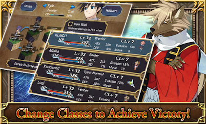 SRPG Legend of Ixtona APK screenshot thumbnail 3