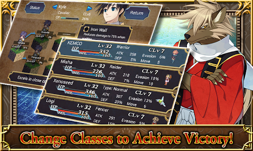 SRPG Legend of Ixtona Screenshot