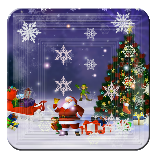 Christmas Magic Elf Santa HD LOGO-APP點子