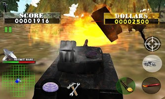 Screenshot of Tank War Defender