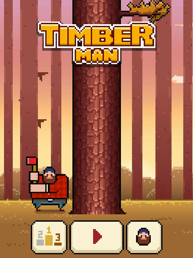 Timberman - screenshot