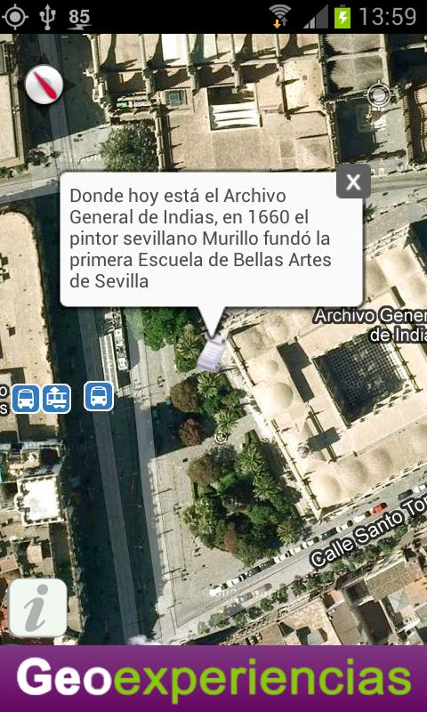 Geoexperiencias - screenshot