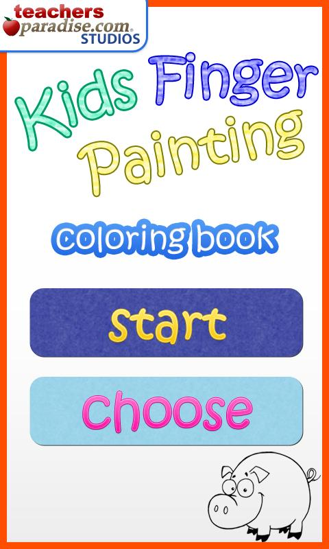 Kids Finger Painting Art Game - screenshot