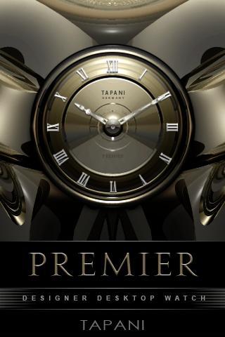 PREMIER Designer Clock Widget