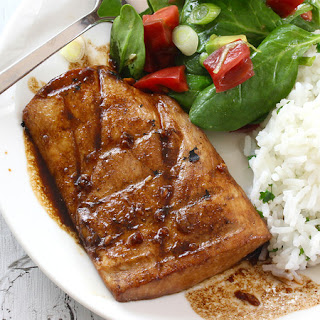 Honey Ginger Glazed Mahi Mahi