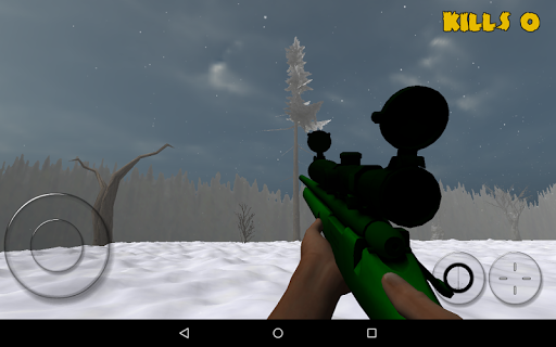 Zombie Sniper: Winter Survival