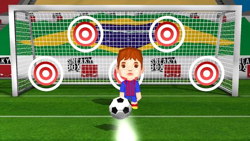 Kids soccer football