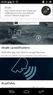 玩個人化App|Heads-up notifications免費|APP試玩