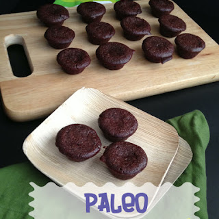 Paleo Chocolate Chunk Brownie Bites