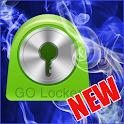 Blue Smoke Theme for GO Locker icon