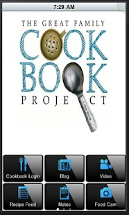 Family Cookbook Recipes- screenshot thumbnail