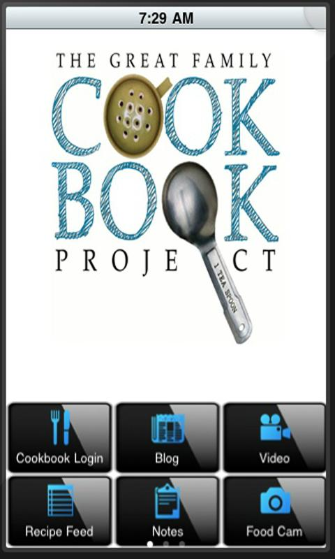 Family Cookbook Recipes- screenshot