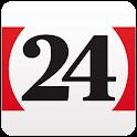 24 Heures logo