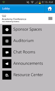 Cisco Academy Conference - screenshot thumbnail