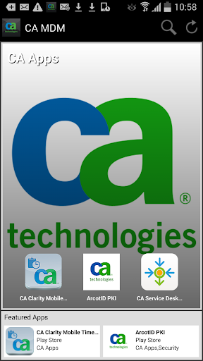 CA Mobile Device Management