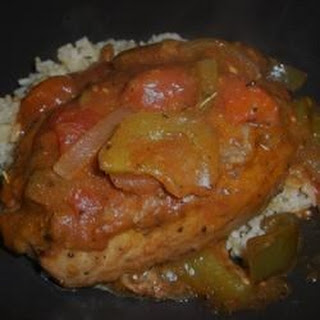 Tomato Pork Chops I.