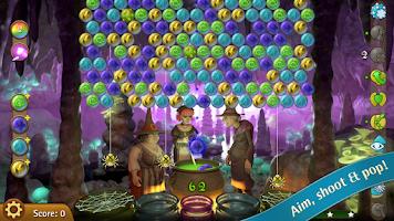 Screenshot of Bubble Witch Saga